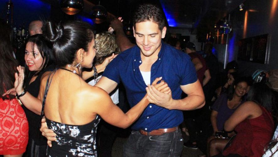 Fiesta de salsa con taller de baile latino en Antigua   Julio 2018
