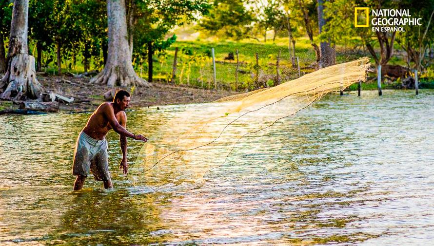Foto de la Laguna Perdida en Petén fue publicada en National Geographic