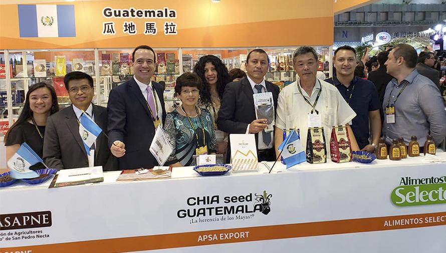 Guatemala estuvo presente en la Exposición Food Taipei 2018