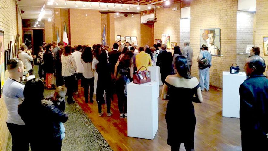 Italarte 2018:Exposición de artistas italianos en Guatemala | Julio - Agosto 2018