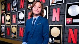 Izan Llunas, el niño que interpreta a Luis Miguel se encuentra en Guatemala