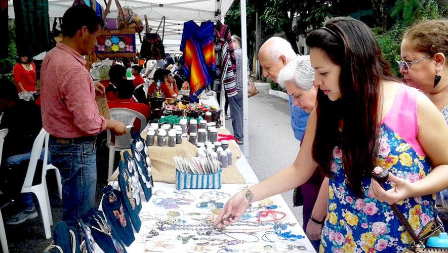 Mercadito de artesanos en el Centro Histórico | Agosto 2018
