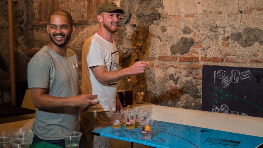 Noche con actividades para hombres en Antigua Guatemala | Julio 2018