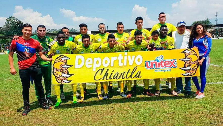 Partido de Chiantla e Iztapa por el Torneo Apertura | Julio 2018