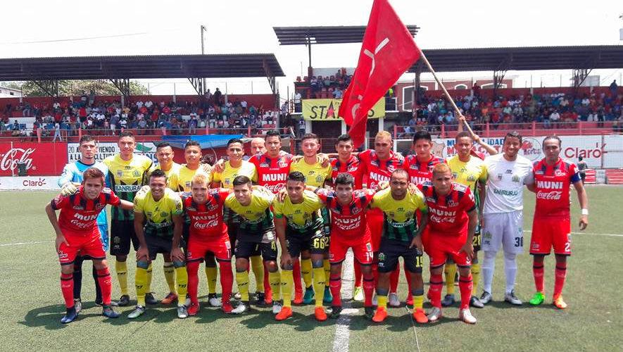 Partido de Malacateco y Guastatoya por el Torneo Apertura | Julio 2018