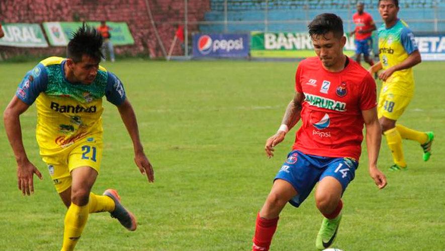 Partido de Municipal y Cobán por el Torneo Apertura | Julio 2018
