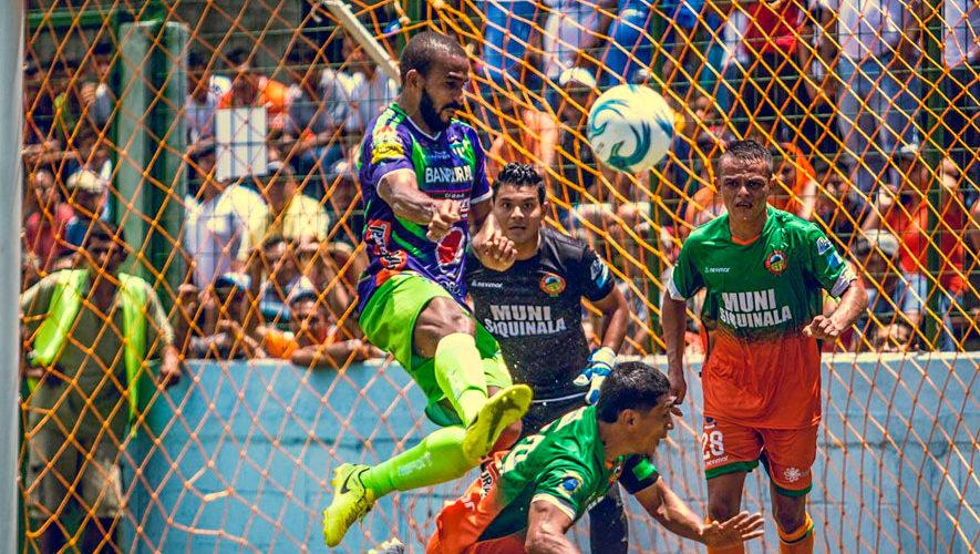 Partido de Siquinalá y Antigua por el Torneo Apertura | Julio 2018