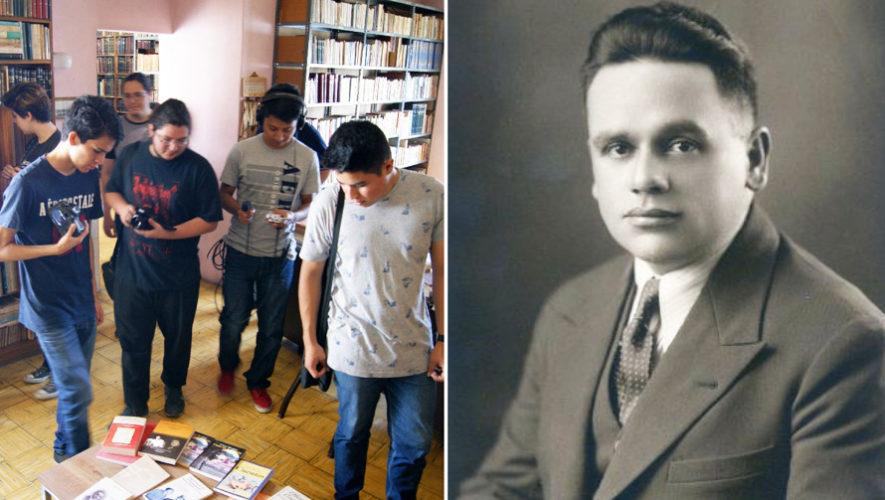 Presentación de libro de César Brañas | FILGUA 2018