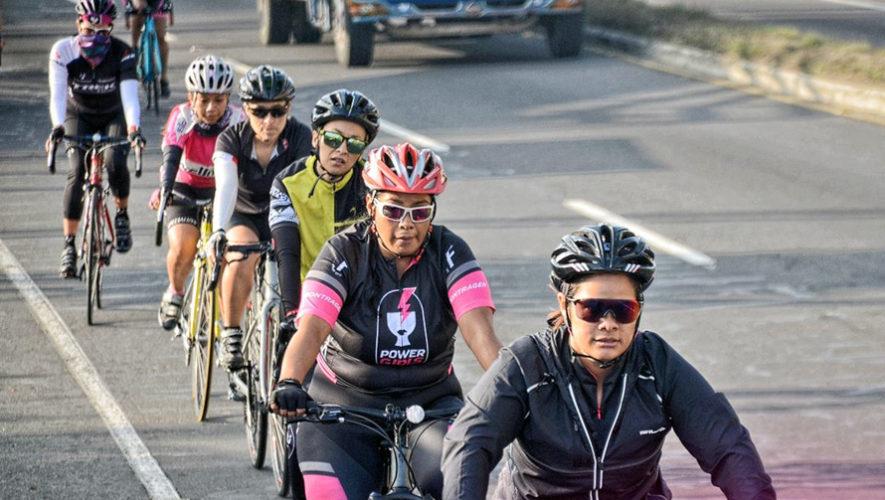 Recorrido en bicicleta solo para mujeres en Ciudad de Guatemala | Julio 2018