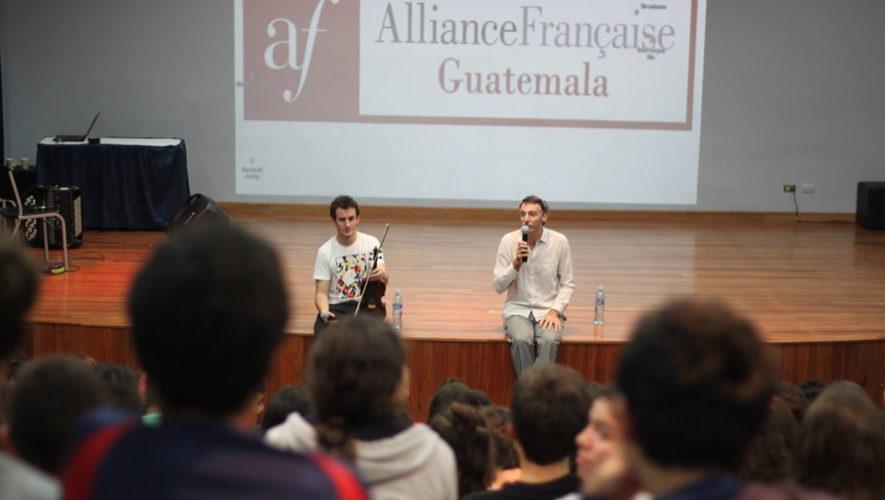 Recorrido literario y musical en la Alianza Francesa   Julio 2018