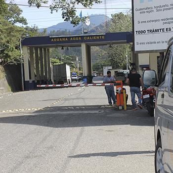 Tiempo fue reducido para cruzar la frontera y comercializar entre Honduras y Guatemala