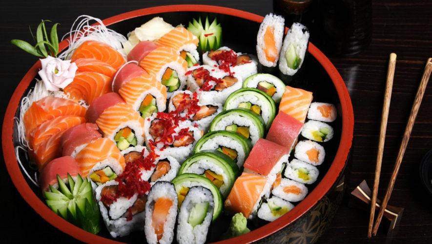 Todo lo que puedas comer de platillos japoneses en Ciudad de Guatemala | Julio 2018