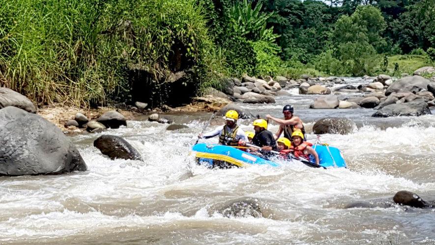 Viaje de un día para practicar rafting en el Río Coyolate | Agosto 2018
