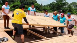 Walmart y Techo construirán 200 viviendas temporales para los damnificados del Volcán de Fuego