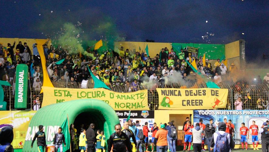 Partido de Petapa y Malacateco por el Torneo Apertura | Agosto 2018