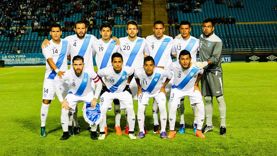 Partido amistoso de Guatemala vs. Cuba   Agosto 2018