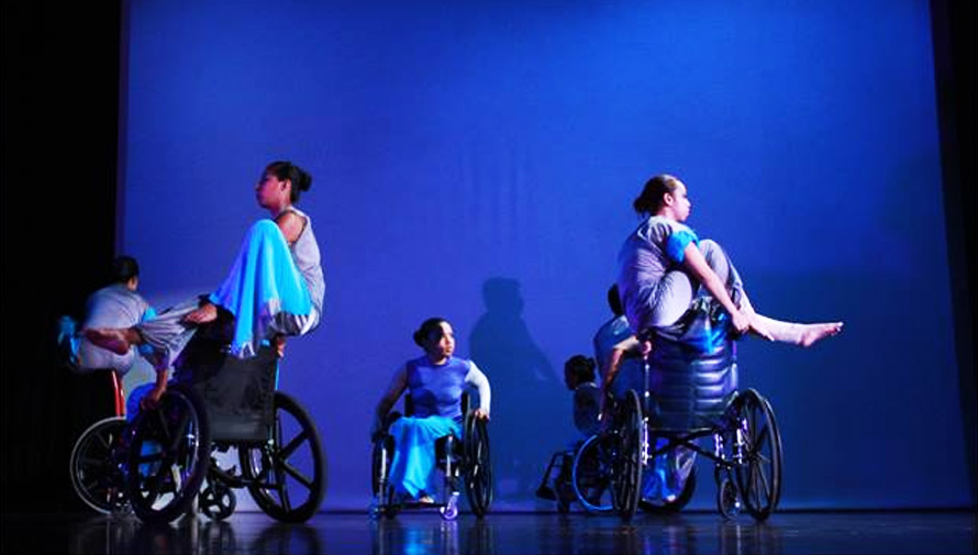 Presentación de la compañía de danza en silla de ruedas Alas de Libertad