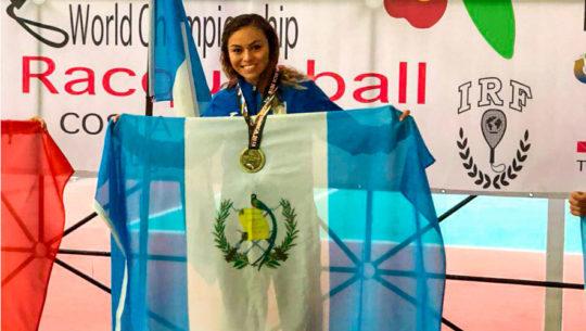 campeona mundial de ráquetbol