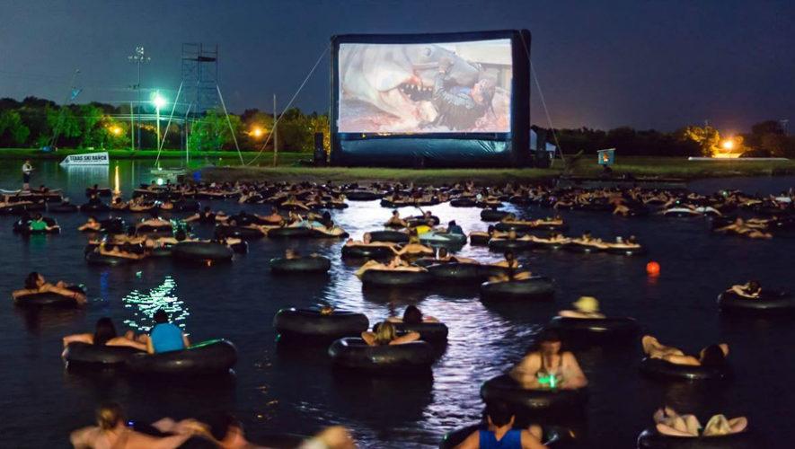 Proyección de cine en Laguna del Pino | Septiembre