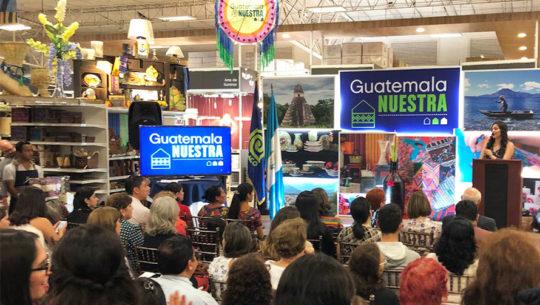 Comienza Festival Guatemala Nuestra 2018 en apoyo a artesanos guatemaltecos