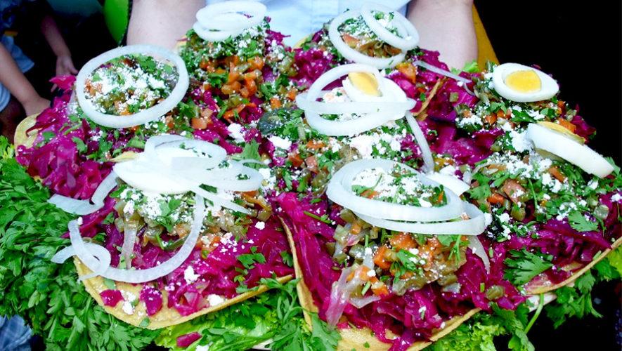 Degustación gratuita de comida típica guatemalteca | Agosto 2018