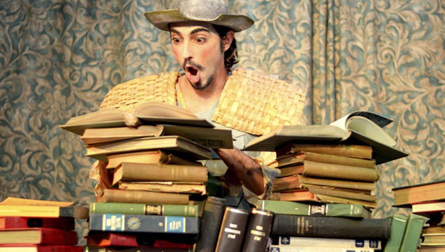 Don Quijote y sus amigos, teatro para niños