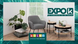 Expo K, exposición de muebles en oferta en Kalea | Agosto 2018