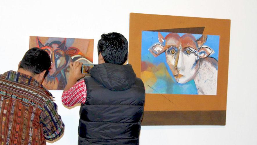 Exposición de pinturas de Erwin Guillermo | Septiembre 2018