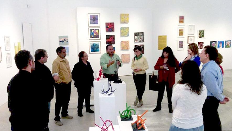 Exposición gratuita con 100 obras de arte en Guatemala | Agosto 2018