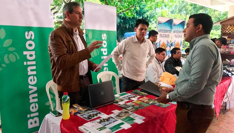 Feria de Empleo en el Campus Central de la Universidad de San Carlos, agosto 2018