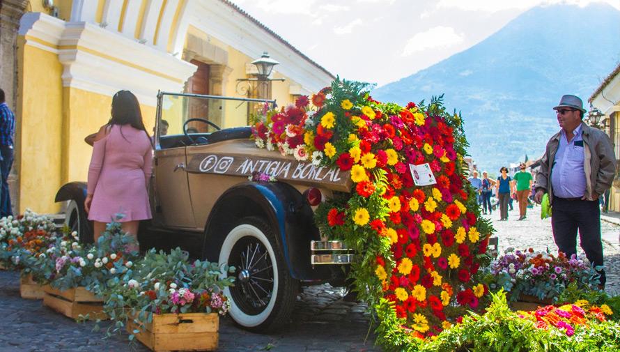 Festival de las Flores 2018 en Antigua Guatemala