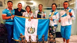 Guatemala conquistó 5 medallas del Centroamericano y del Caribe de Fisicoculturismo 2018