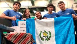 Guatemaltecos participan en Olimpiada Internacional de Robótica en México, 2018