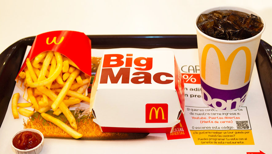 McDonald's reduce el uso de pajillas en todos sus restaurantes de Guatemala