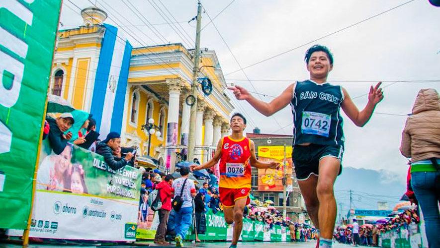 Medio Maratón Atanasio Tzul en Totonicapán | Septiembre 2018