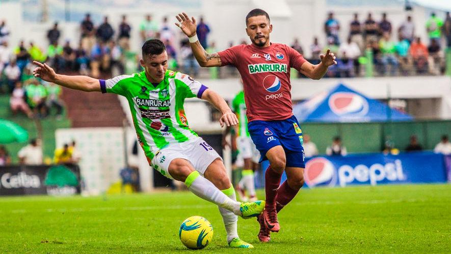 Partido de Antigua y Municipal por el Torneo Apertura | Agosto 2018