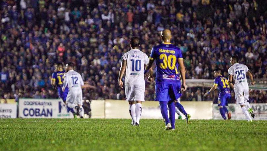 Partido de Cobán y Comunicaciones por el Torneo Apertura | Septiembre 2018