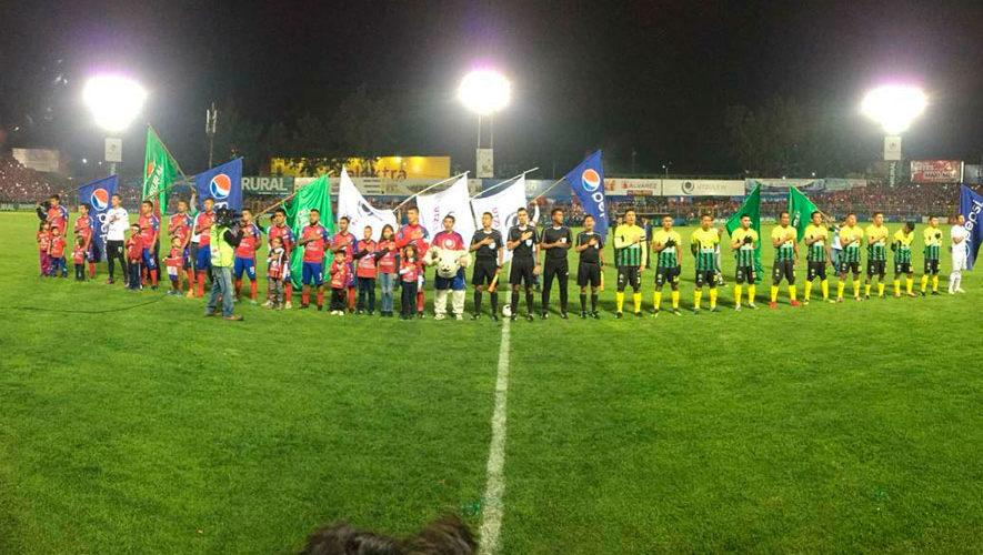 Partido de Xelajú y Guastatoya por el Torneo Apertura | Agosto 2018