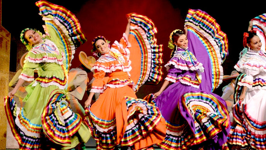 Show gratuito de danza folclórica de Sinaloa en la USAC | Agosto 2018