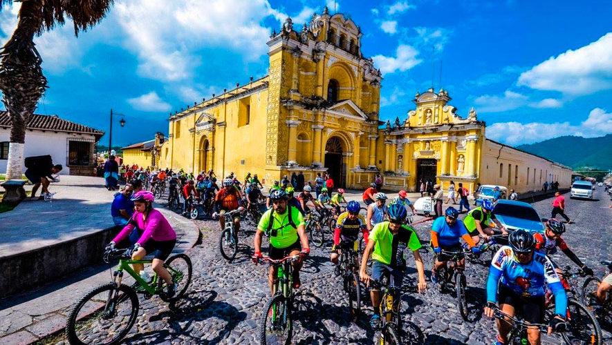 Tour en Bicicleta por la Antigua Guatemala | Septiembre 2018