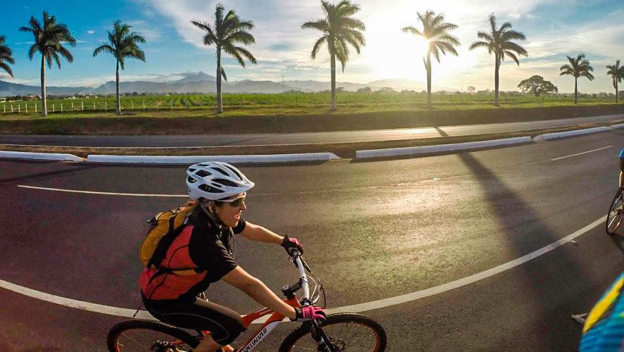 Travesía en bicicleta de ruta en Escuintla   Agosto 2018