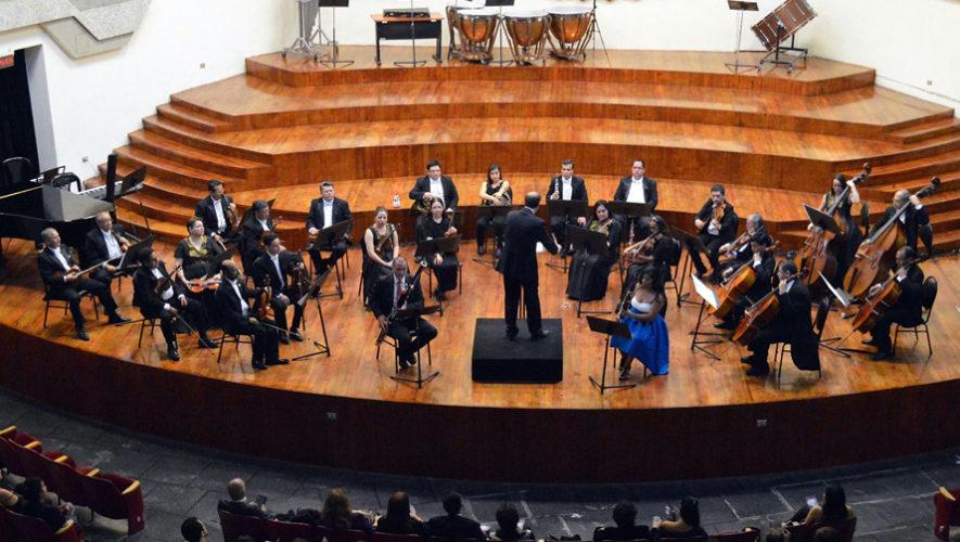 V concierto de temporada de la Orquesta Sinfónica Nacional | Agosto 2018