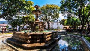 Viaje y visita guiada a las Fuentes de Antigua Guatemala | Agosto 2018