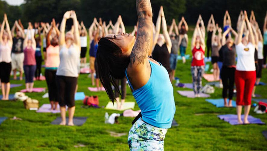 Yoga al aire libre en Ciudad de Guatemala | Septiembre 2018