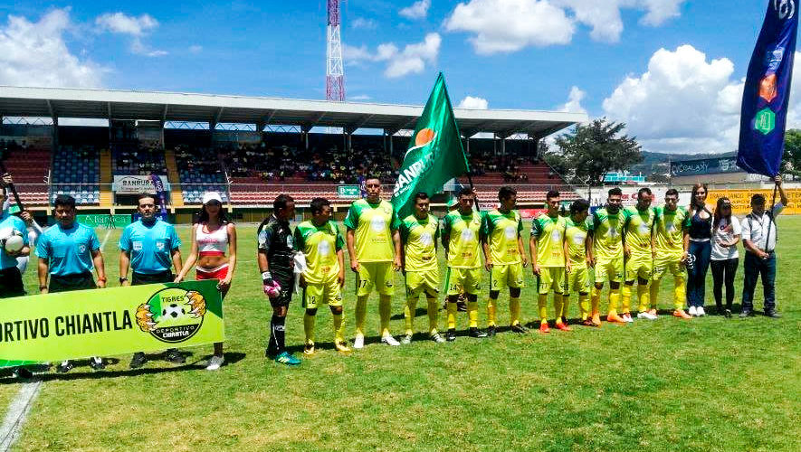 Partido de Chiantla y Xelajú por el Torneo Apertura   Agosto 2018