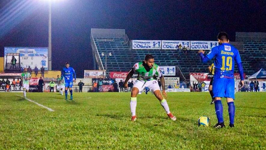 Partido de Cobán y Antigua por el Torneo Apertura | Agosto 2018