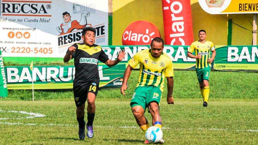 Partido de Guastatoya y Petapa por el Torneo Apertura | Septiembre 2018