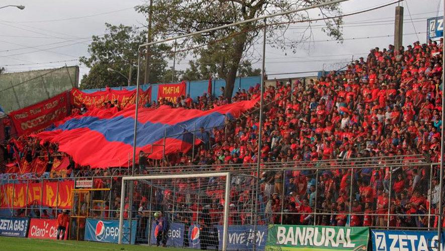 Partido de Municipal y Guastatoya por el Torneo Apertura | Agosto 2018