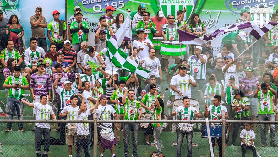 Partido de ida Antigua y Guastatoya, repechaje de Concachampions | Agosto 2018