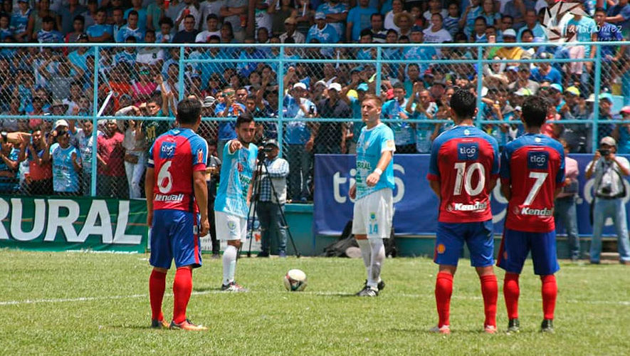 Partido de Sanarate y Xelajú por el Torneo Apertura | Agosto 2018
